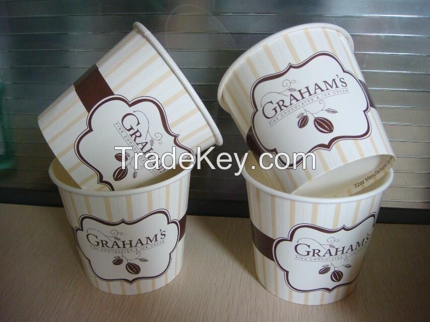 Ice Cream Paper Cups