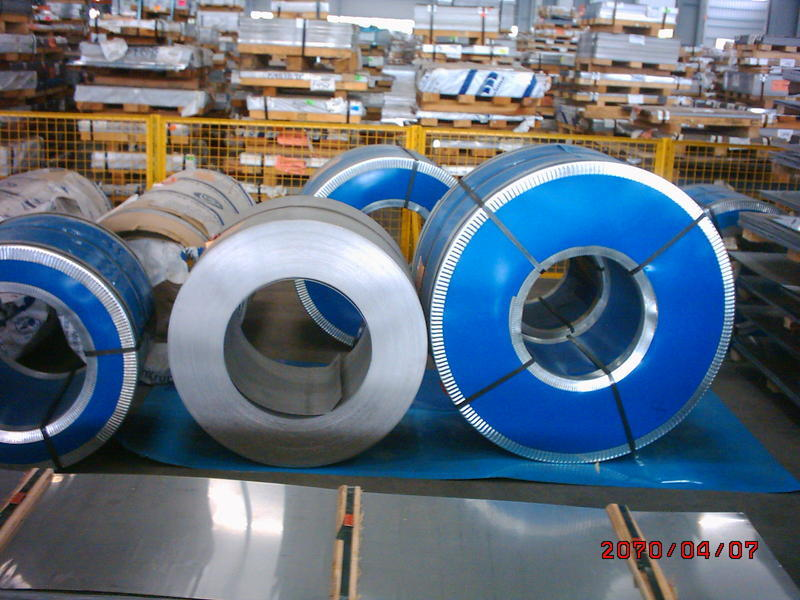 Secondary and Prime Stainless steel sheet and coil ( Strip )