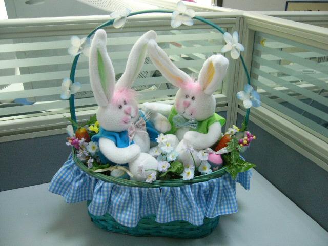 Fiber Optic Easter Basket