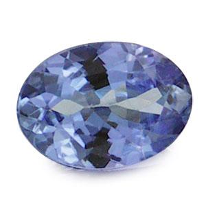Oval VVS1 Natural Violet Blue Tanzanite