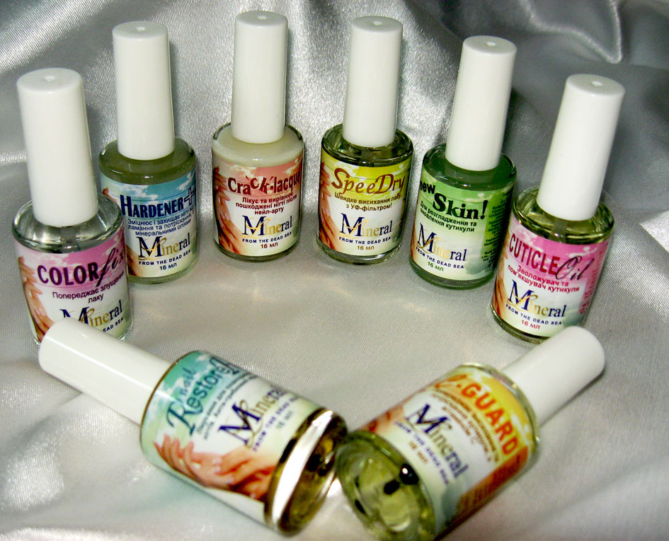MINERAL LINE NAIL TREATMENT COLLECTION