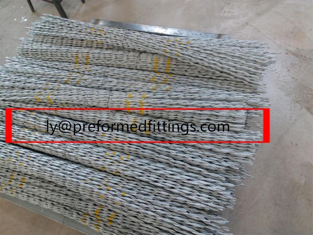 preformed arourm rod/guy grip/Deadend set, insulater, overhead line,