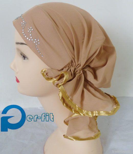 Muslim scarf chemo hijab turban headband headwrap bonnet cap