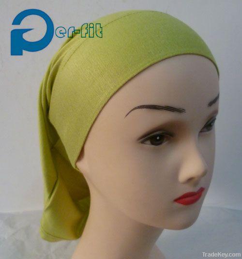 muslim neck cover bonnet underscarf headwear volumising hair tie