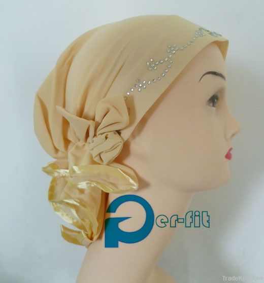 hijab flower volumiser flower shabasa khaleeji hair clamp