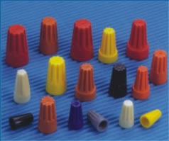 cable ties, terminal blocks, nail clips