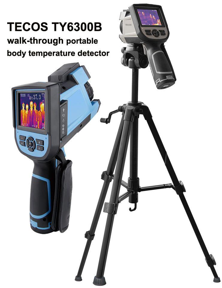 COVID 19 IR thermal camera, portable body temperature scanner