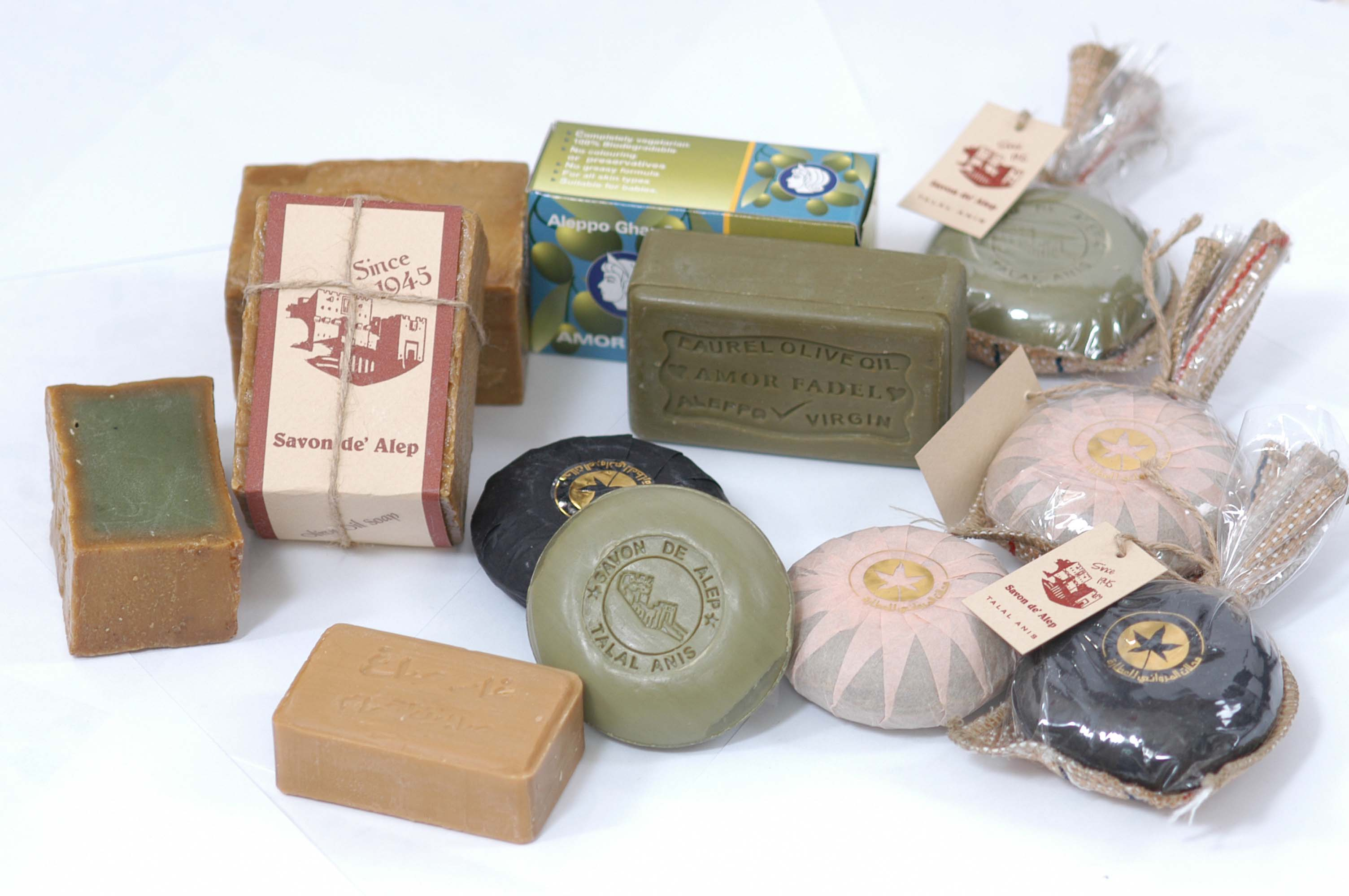 aleppo soap - olive oil soap