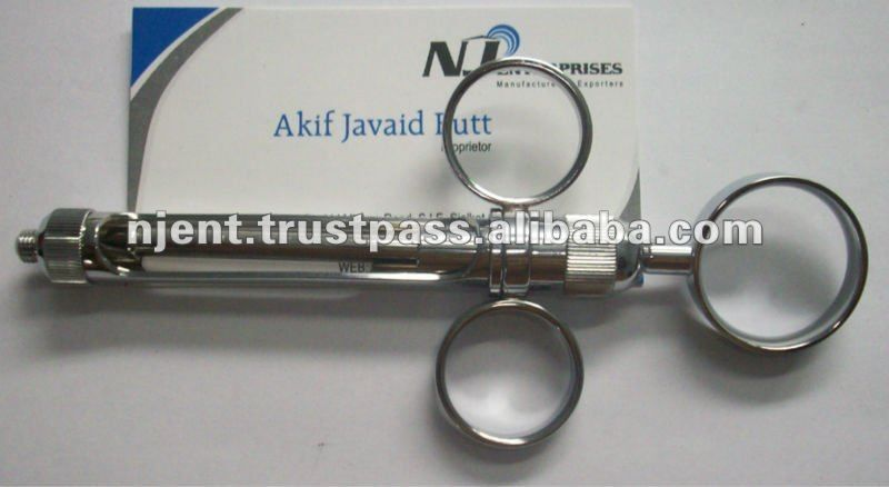 Buy Pakistani Dental Cartridge Syringe Brass Metal Dental Supplies