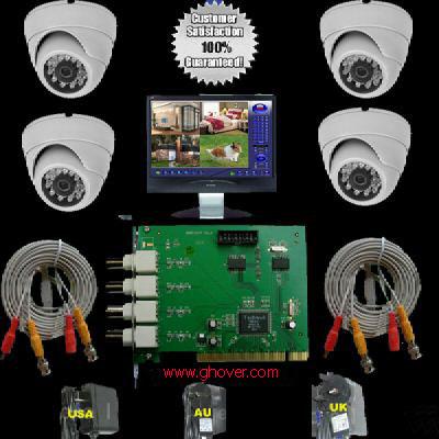 DIY DVR Cameras Surveillance Kit