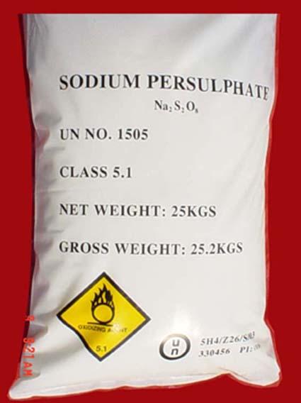 Sodiumv persulphate,Ammonium Persulphate, Potassium Persulphate
