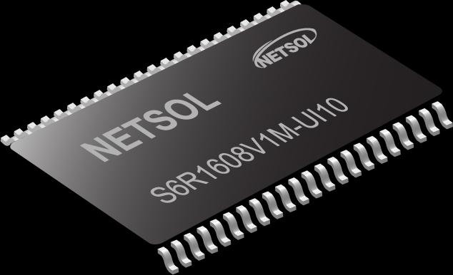 Netsol SRAM 1Mb S6R1008V1A