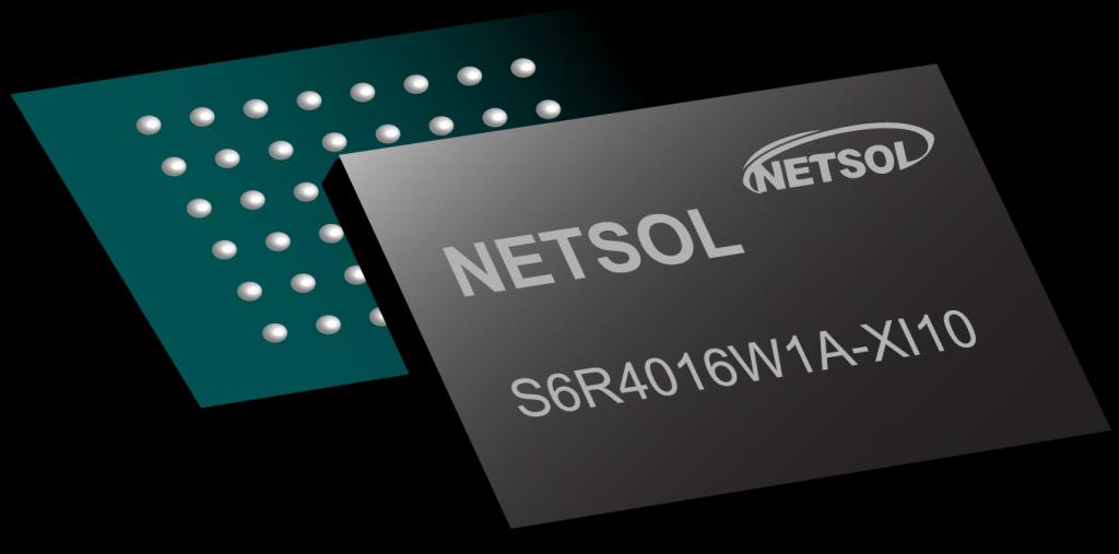 Netsol SRAM 1Mb S6R1008C1A