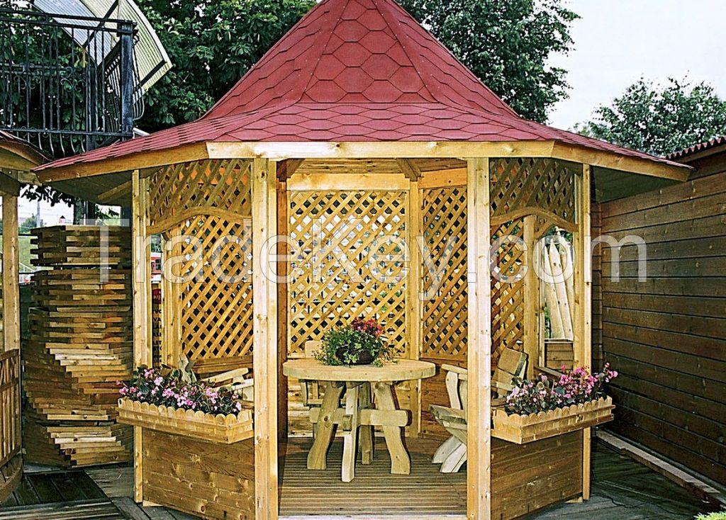 Wooden Gazeboes, Pavilions