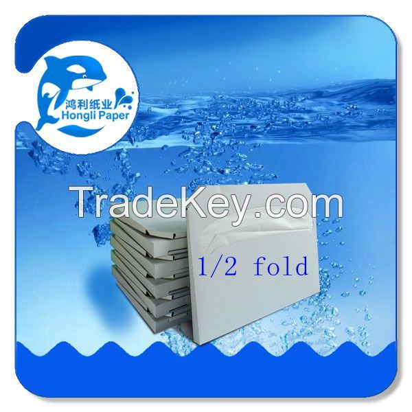 Flushable Paper Toilet Seat Cover