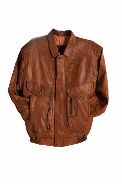 lamp Skin leather jacket