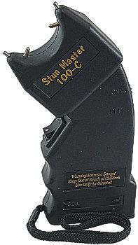 100, 000 Volt Stun Master Stun Gun - Curved