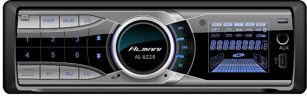 CD/MP3 PLAYER AL-8228