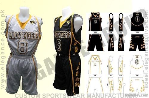 Tiger Basketball Uniform