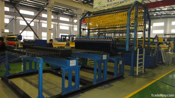 welded mesh production line