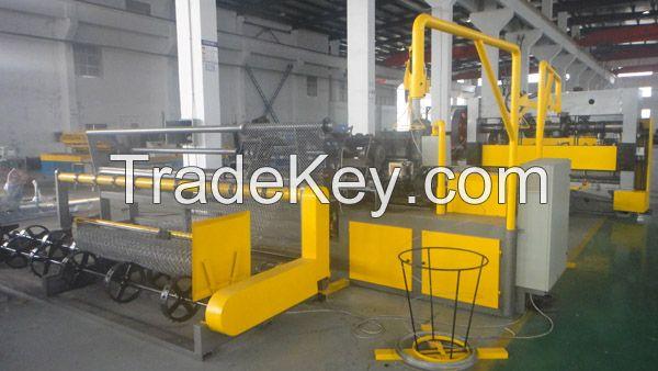 2m Chain link fence machine