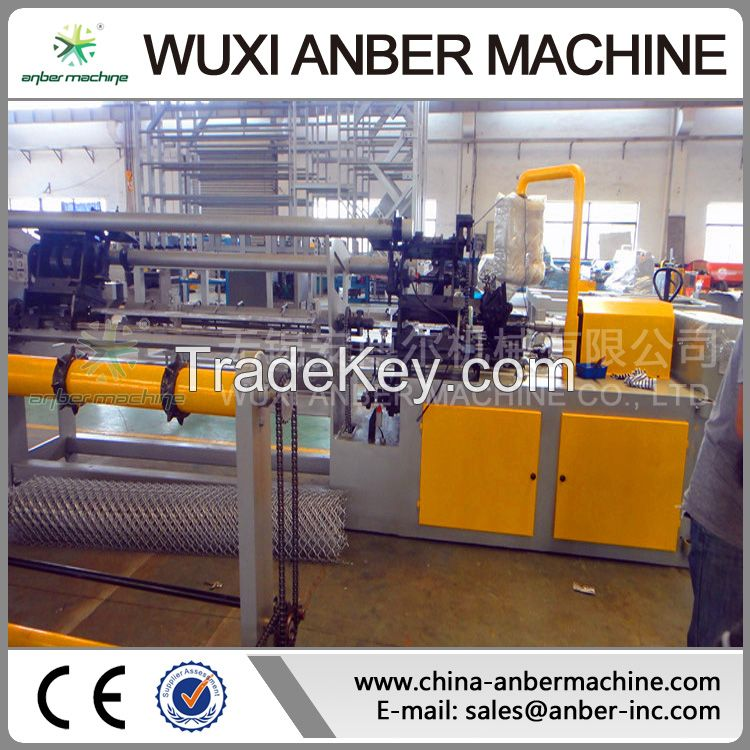 2m Chain link fence machine
