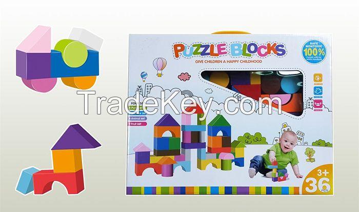 36pcs building block set intelligent toys