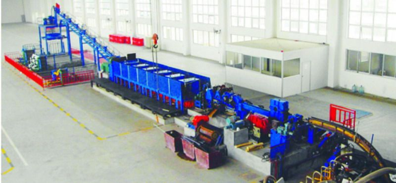 Copper/Aluminum Continuous Casting Machine