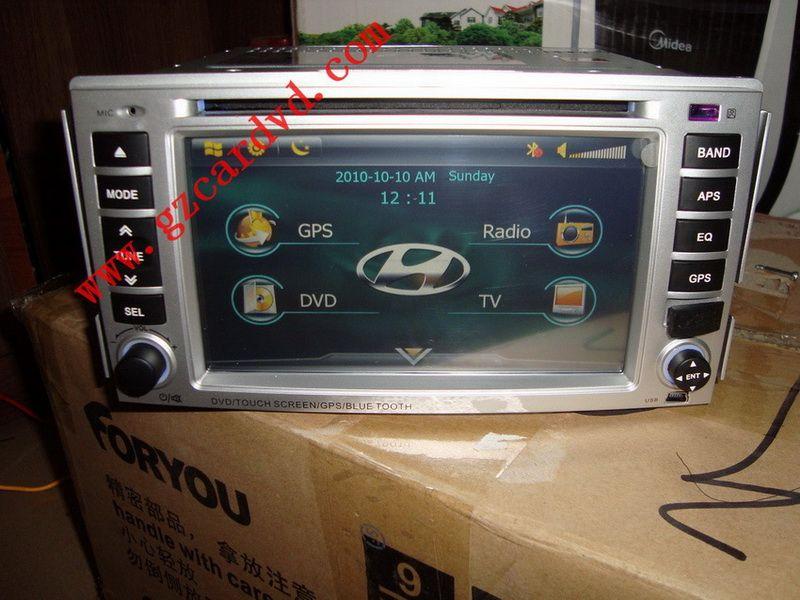 Car Dvd Player (HYUNDAI SANTA FE)