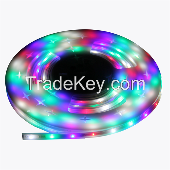 LED digital flexible strip lights