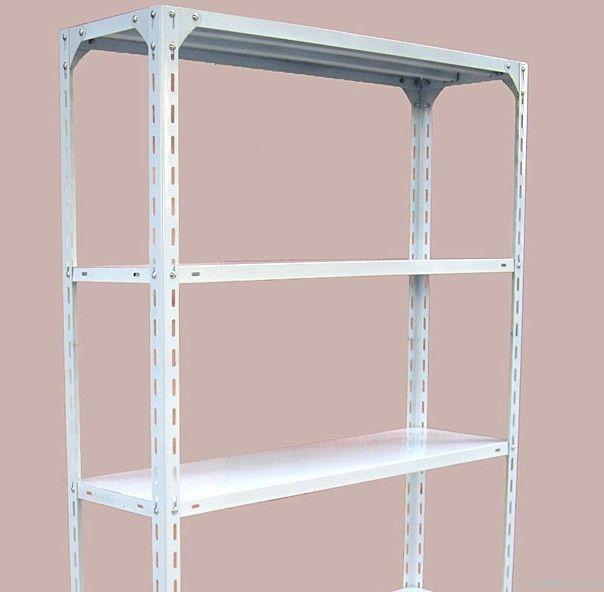 slot angle shelf