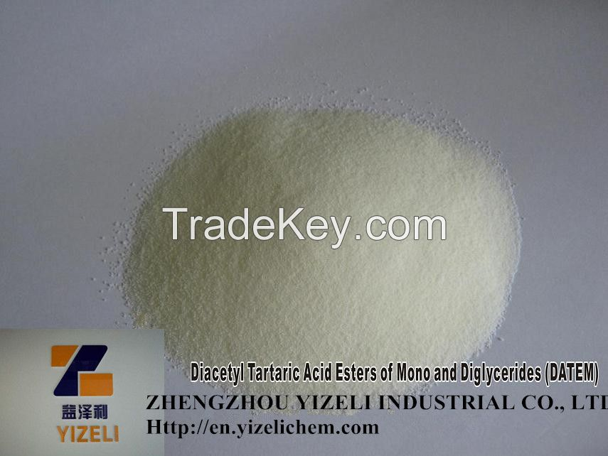 China additive Diacetyl Tartaric Acid Esters of Mono and Diglycerides