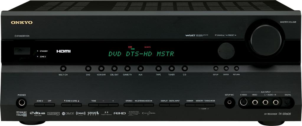 ONKYO TX-SR605 7.1 Home Theater Receiver