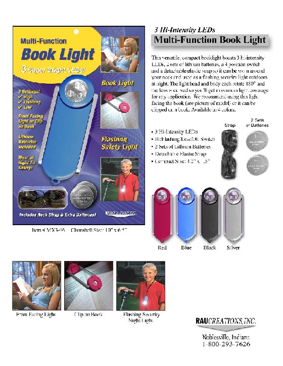 Multi-Function Booklight