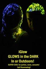 iGlow Dark Party Hair Gel