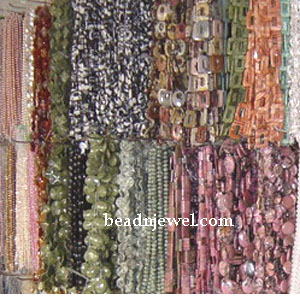 semiprecious bead strands