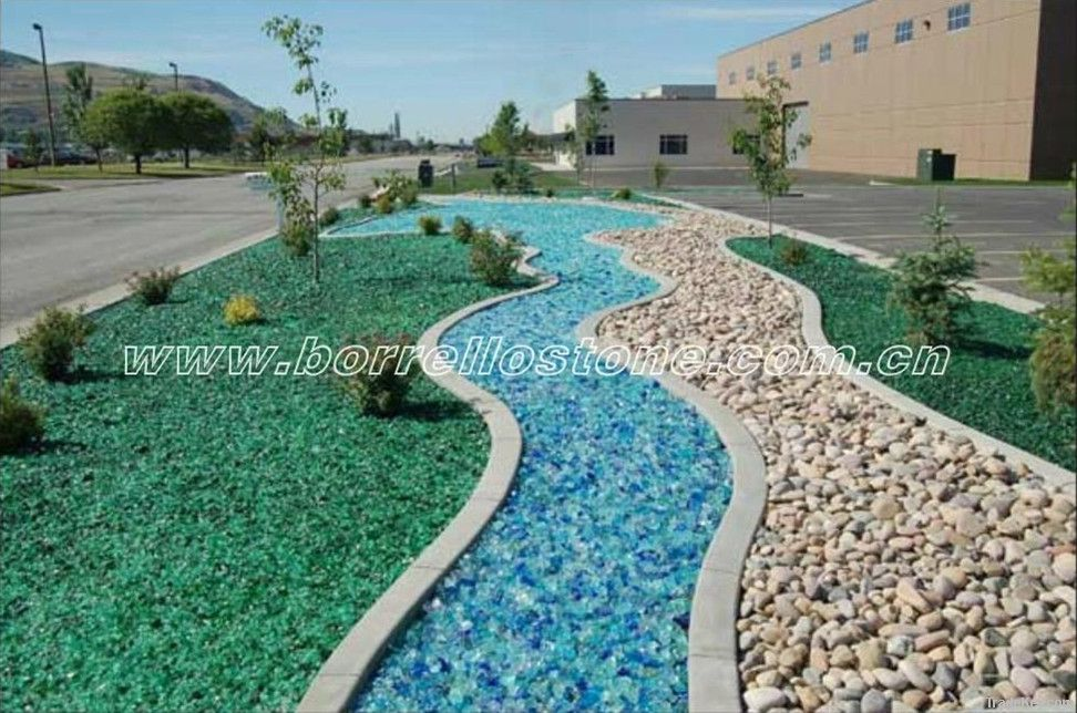 Landscaping Glass Chips