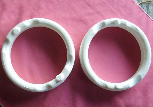 soluble piston salt core ring/ salt core for piston inner cooling gallery