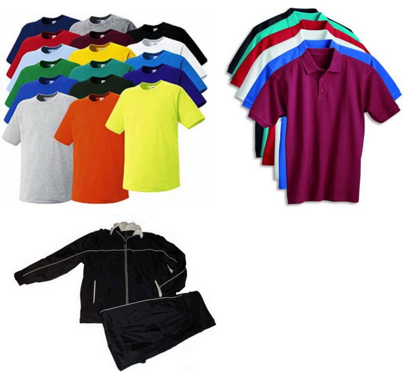 T-Shirts\Polo Shirts\Jogging Suits