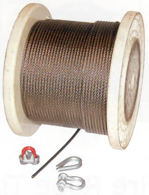 ISO9001, ISO14000 mills in bright wire rope, *galvanized (Electro & hot
