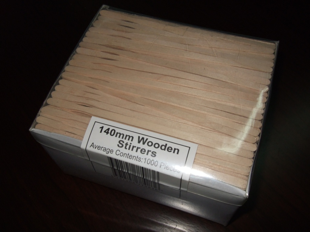Wooden Coffee Stirrer
