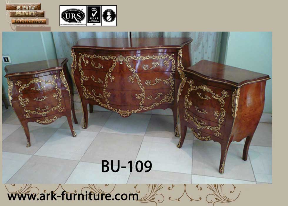 bombe french antique furniture