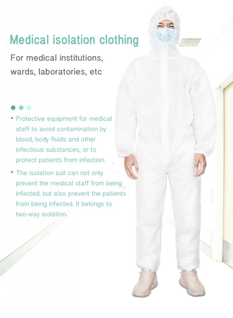 Protective Clothing, Isolation suit Medical Protective Clothing
