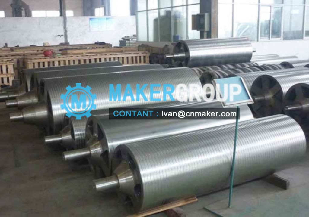 Sink roll 500 / Galvanizing equipment  parts, 3 rolls  6 arms assembly