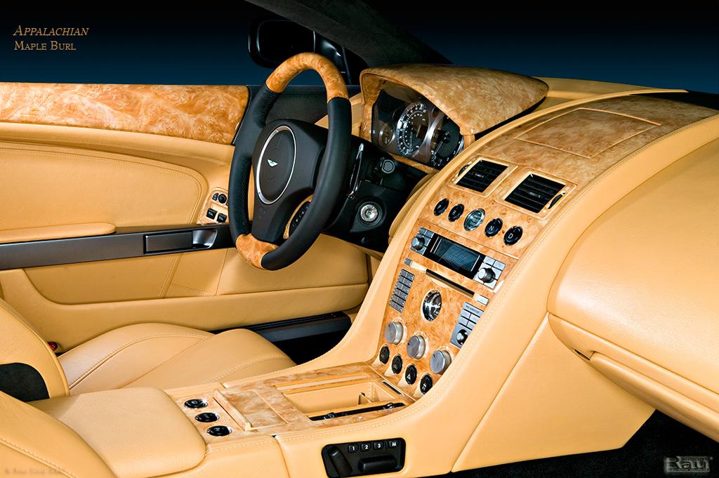 Aston Martin Custom Interior Trims