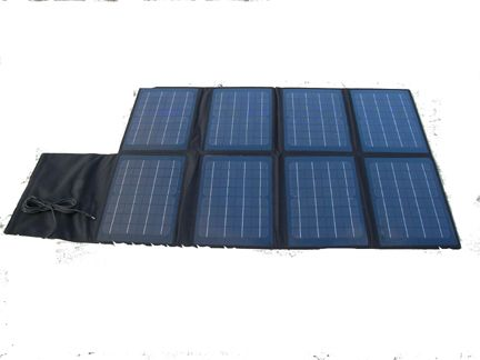 80W Foldable Solar panel with mini USB Voltage Controller can charge laptops mobilephones and digital products