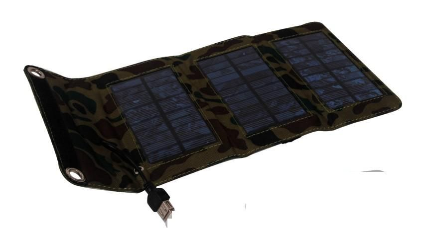 Perfect Solar Panel 5W Kits plus 10-in-1 USB Charging Cable and Mini Voltage Controller for all moilephones charging