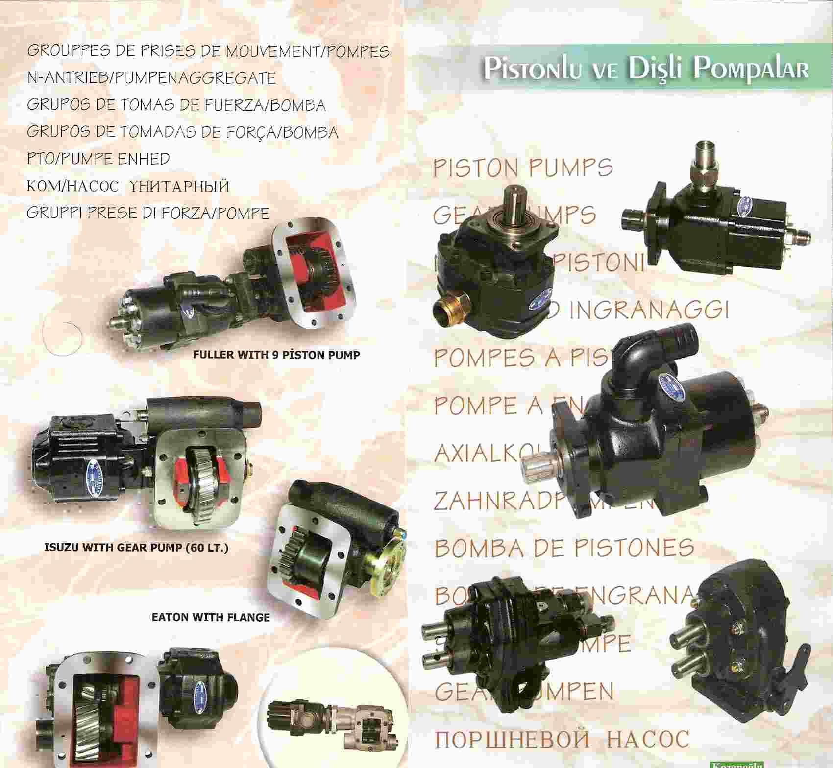 Power Take Off, Split Shaft Pto, Hydraulic Pump, PTO Shaft