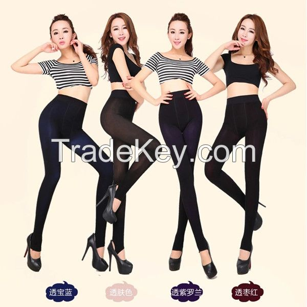 hot selling fashion sexy double color girl tights