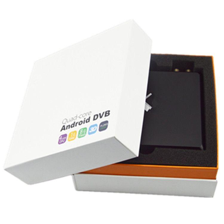 ANDROID DVB-T2+DVB-S2 QUAD CORE OTT TV BOX AMLOGIC S905 IPR1106TS